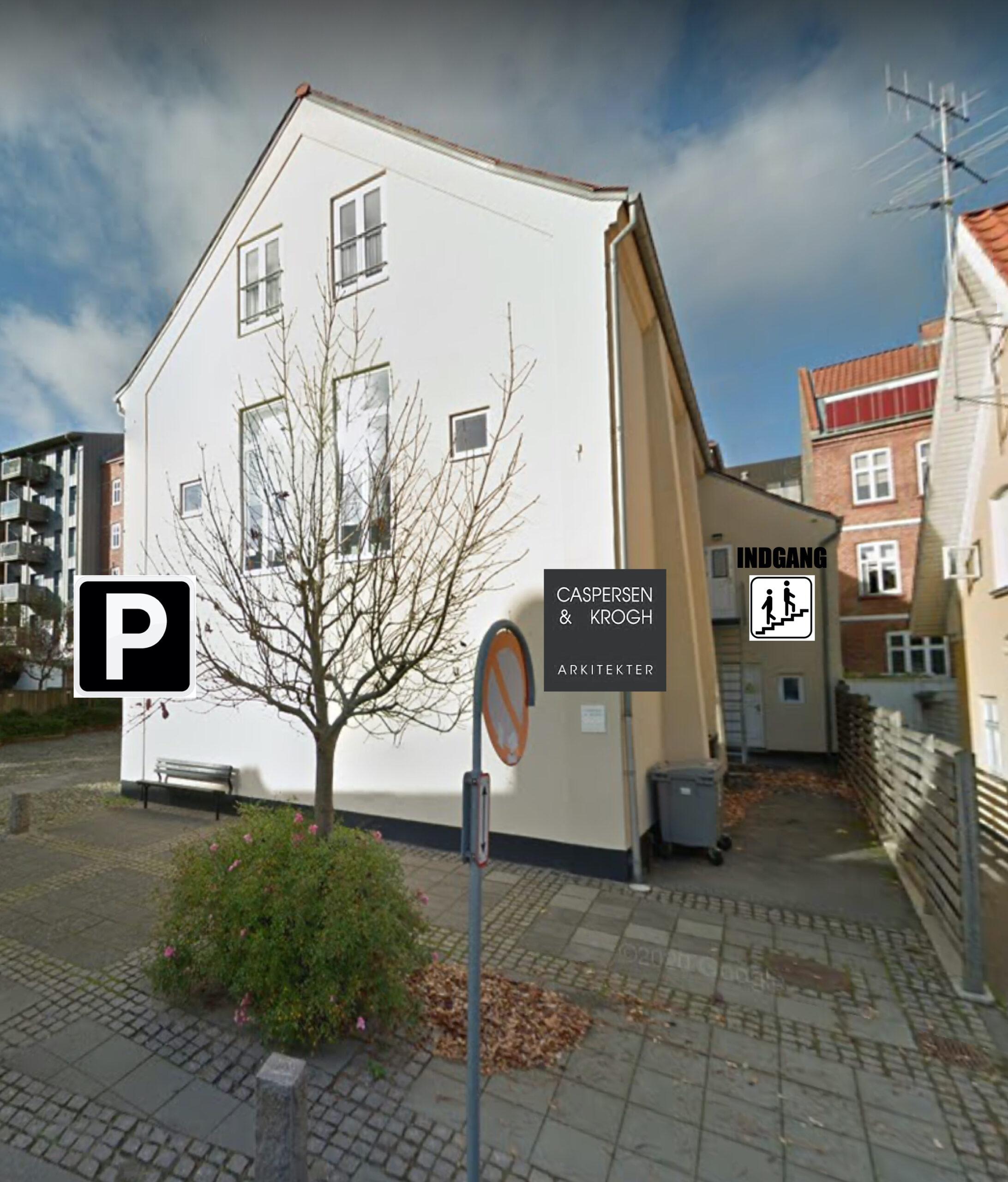 Indgang Niels Ebbesens Gade 7B